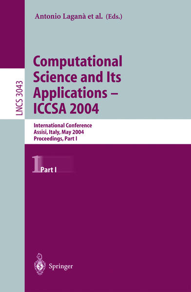 Computational Science and Its Applications - ICCSA 2004. Pt.1 als Buch (kartoniert)