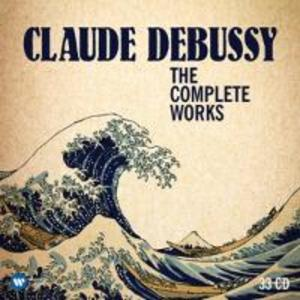 Debussy: Complete Works (33 CD´s)