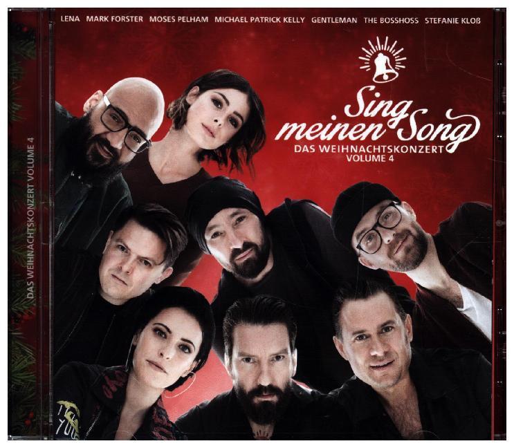Sing Meinen Song Das Weihnachtskonzert Vol4 Cd Various