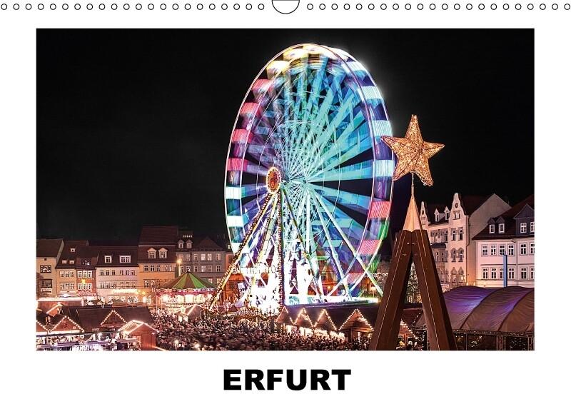 Erfurt (Wandkalender 2018 DIN A3 quer)