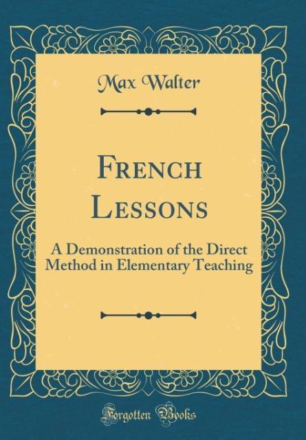 French Lessons als Buch von Max Walter