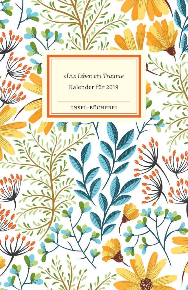 »Das Leben ein Traum« - Kalender für das Jahr 2019 als Kalender