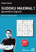 SUDOKU MAXIMAL 1 - garantiert logisch