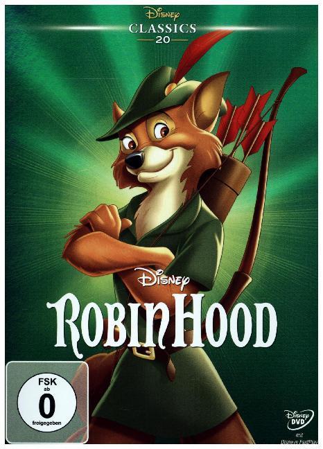 Robin Hood als DVD