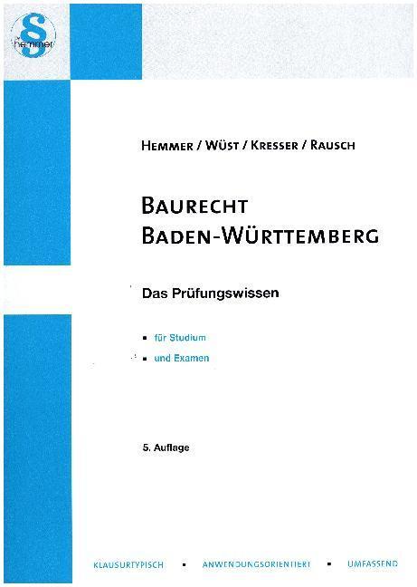 Baurecht Baden-Württemberg als Buch von Karl-Ed...