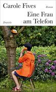 Eine Frau am Telefon
