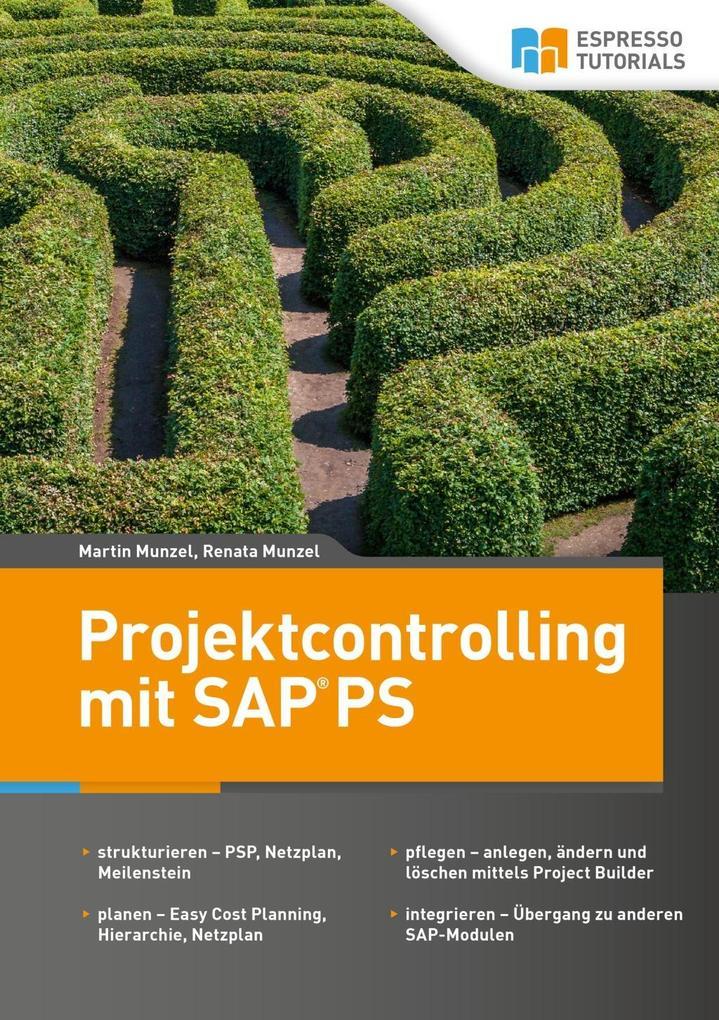 Projektcontrolling mit SAP PS als eBook Downloa...