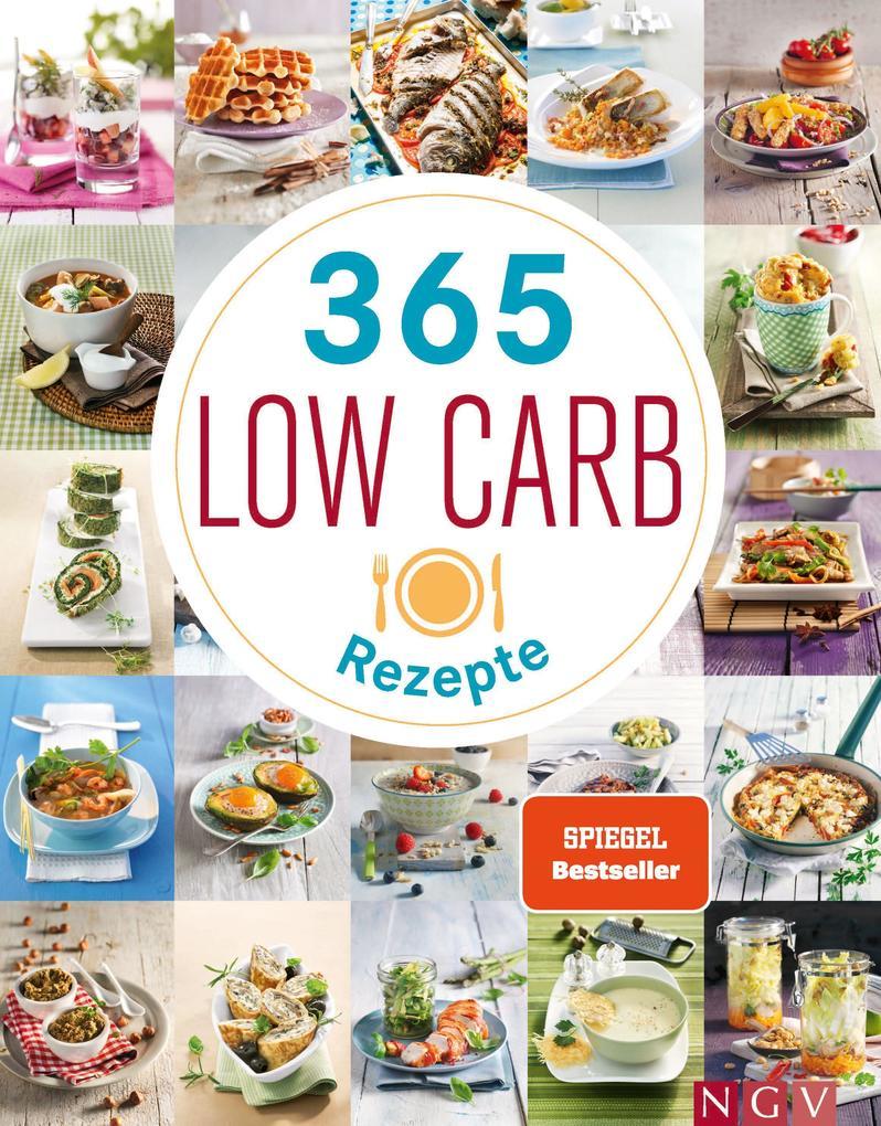 365 Low-Carb-Rezepte als Buch