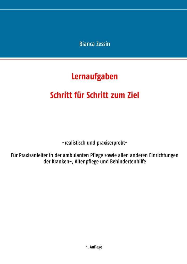 Lernaufgaben als eBook Download von Bianca Zessin