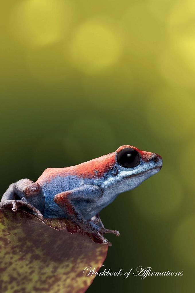 Strawberry Poison Dart Frog Workbook of Affirma...