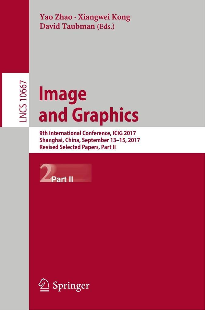 Image and Graphics als Buch von