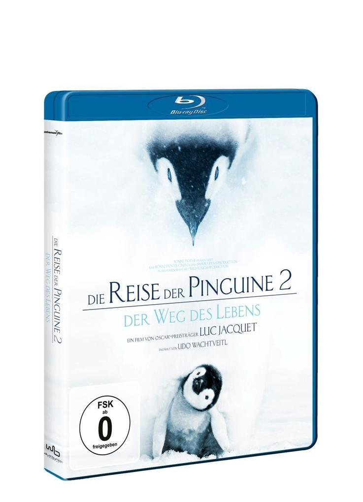 Die Reise der Pinguine 2 BD als DVD
