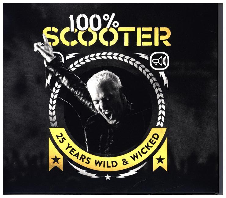 100% Scooter-25 Years Wild&Wicked(3CD) als CD
