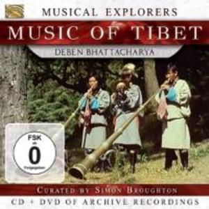 Musical Explorers-Music Of Tibet (CD+DVD)