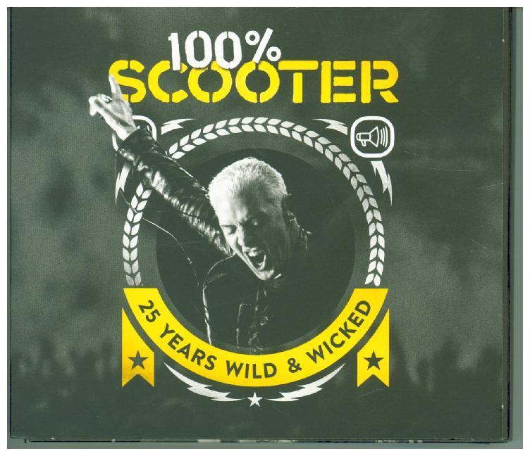 100% Scooter-25 Years Wild&Wicked(Ltd.5CD-Digipak) als CD