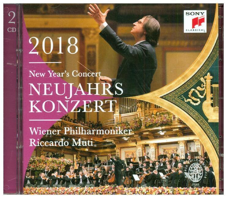 Neujahrskonzert 2018 / New Year's Concert 2018 als CD