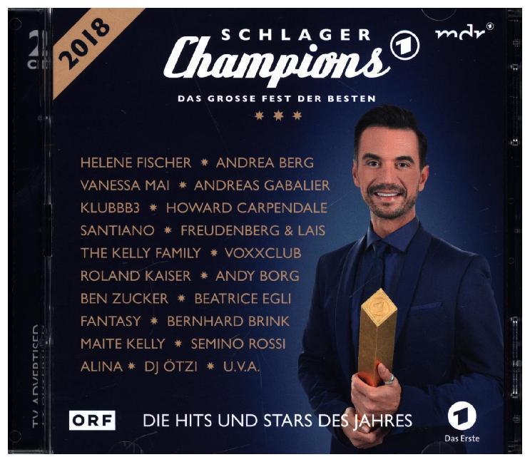 Schlager Champions 2018 - Das große Fest der Besten als CD