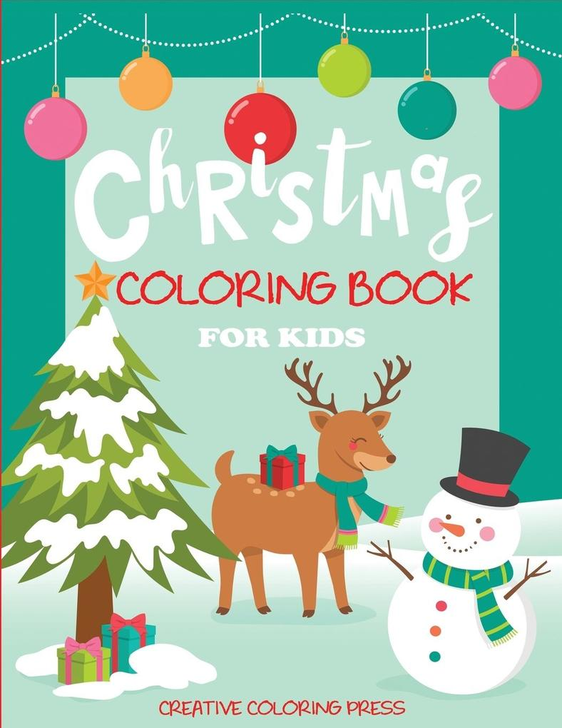 Christmas Coloring Book for Kids als Taschenbuc...