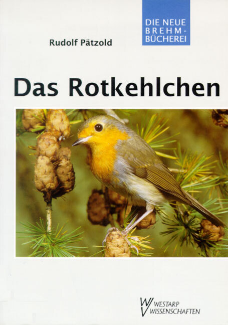 Das Rotkehlchen als Buch von Rudolf Pätzold