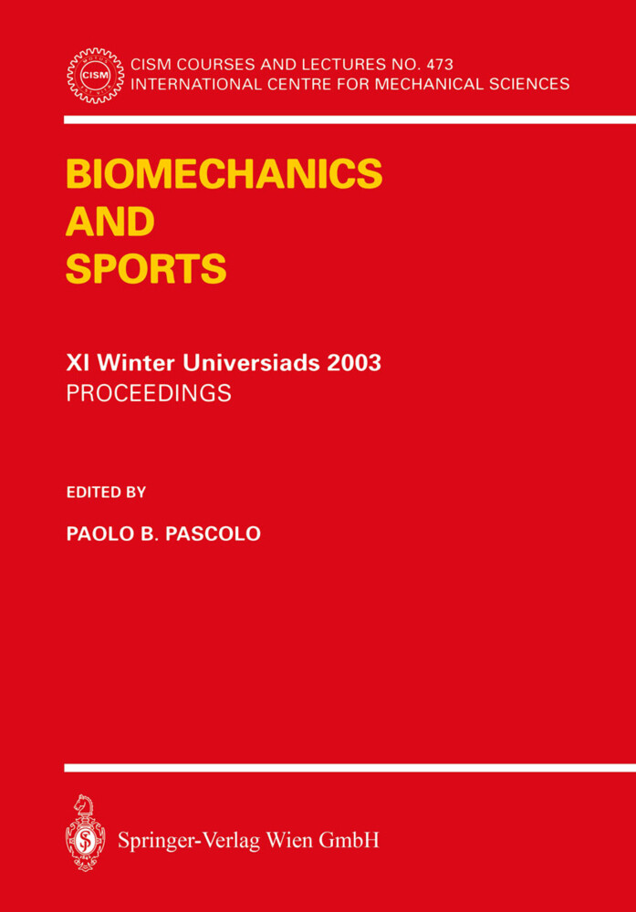 Biomechanics and Sports als Buch von
