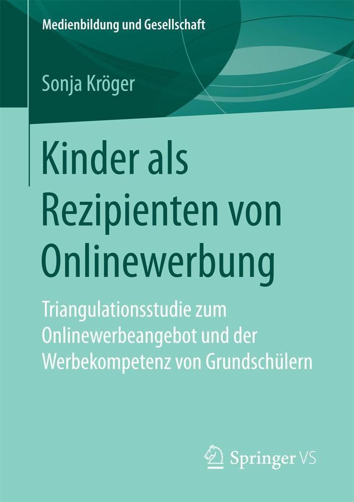 Kinder als Rezipienten von Onlinewerbung als eB...