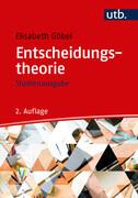 Entscheidungstheorie - Studienausgabe