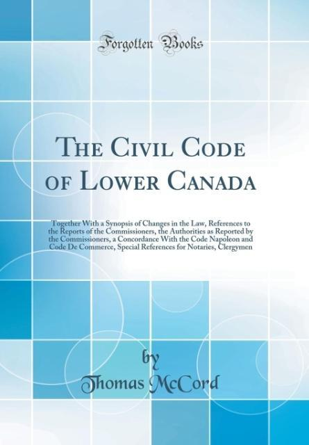 The Civil Code of Lower Canada als Buch von Tho...