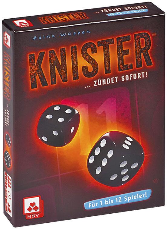 NSV 19908050 - Knister, Würfelspiel, Brettspiel, Familienspiel als Spielwaren