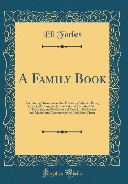 A Family Book als Buch von Eli Forbes