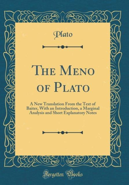an introduction to the research of platos paradox in the meno Today hank begins to teach you about philosophy by discussing the historical origins of philosophy in ancient greece, and its three main divisions: metaphysics, epistemology, and value theory.