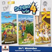 Schlau wie Vier - 3er Box 01. Wissens-Box (Folgen 1 / 2 / 3)
