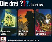 Die drei ??? 3er Box 39 (Folgen 116, 117, 118) (drei Fragezeichen)