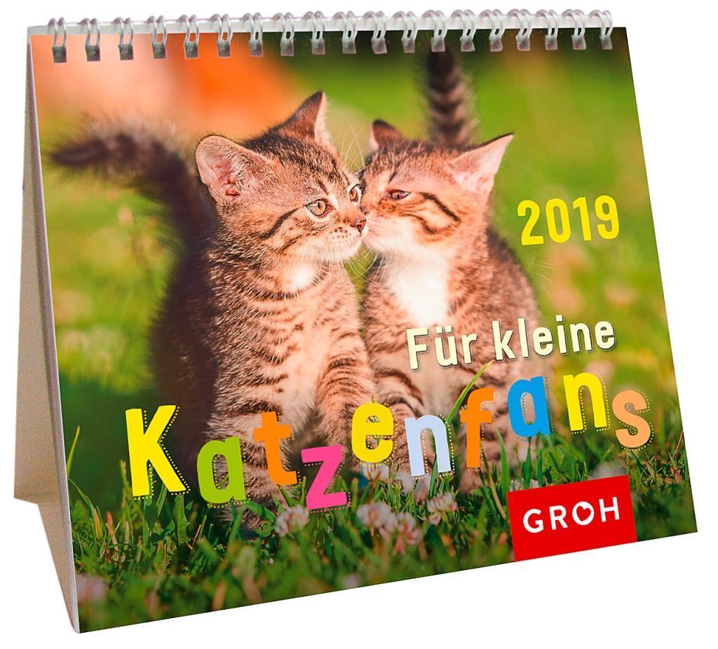 Für kleine Katzenfans 2019 als Kalender