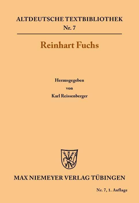 Reinhart Fuchs als eBook Download von Heinrich