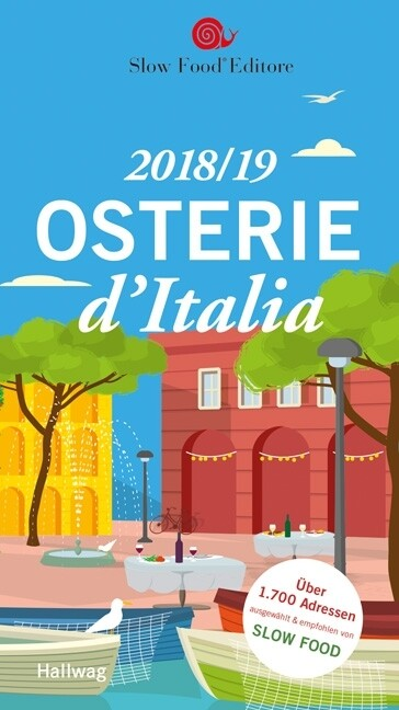 Osterie d'Italia 2018/19 als Buch