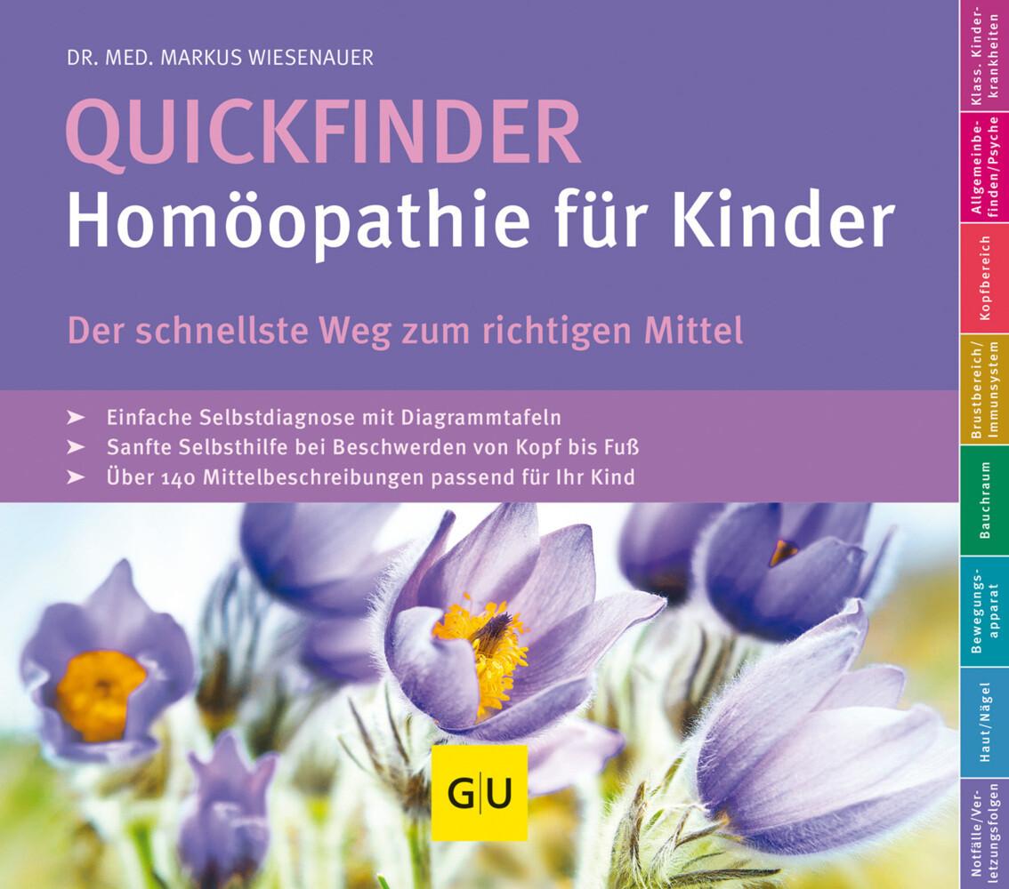 Quickfinder- Homöopathie für Kinder als Buch