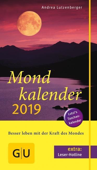 Mondkalender 2019 als Buch
