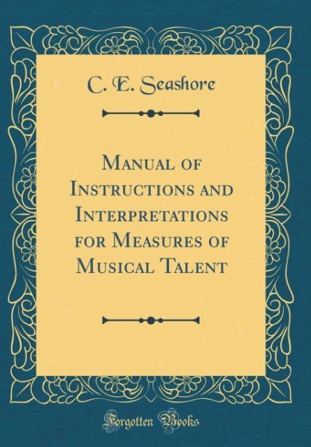Manual of Instructions and Interpretations for ...