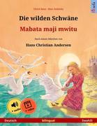 Die wilden Schwäne - Mabata maji mwitu (Deutsch - Swahili)