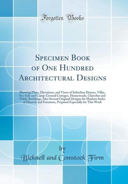 Specimen Book of One Hundred Architectural Desi...