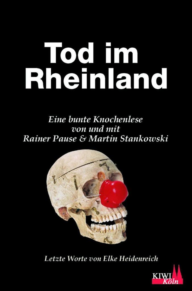 Tod im Rheinland als Buch von Rainer Pause, Mar...
