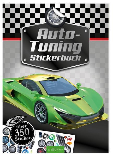Auto-Tuning Stickerbuch als Buch von