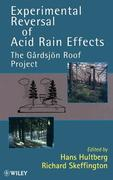 Experimental Reversal of Acid Rain Effects: The G Rdsjon Roof Project