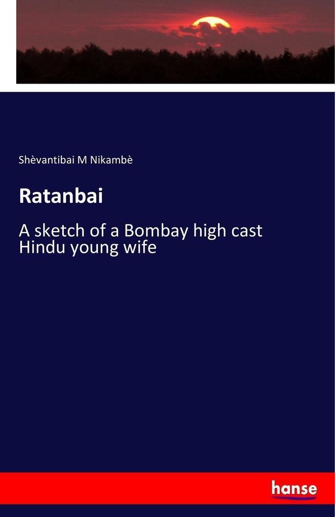 Ratanbai als Buch von Shèvantibai M Nikambè