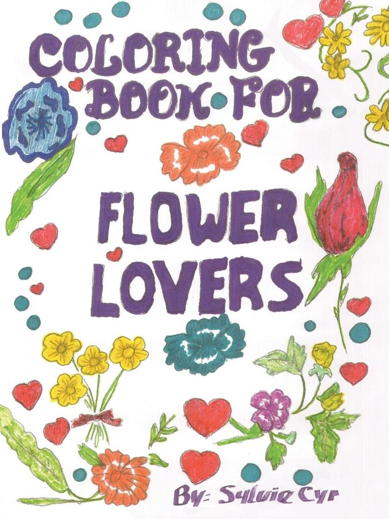 Coloring Book for Flower Lovers als Taschenbuch...