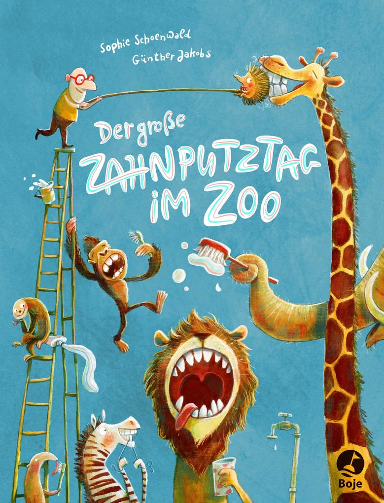 Der große Zahnputztag im Zoo als Buch