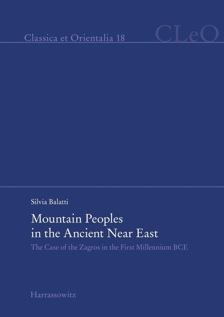 Mountain Peoples in the Ancient Near East als e...