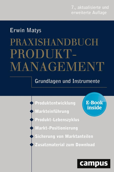 Praxishandbuch Produktmanagement als Buch