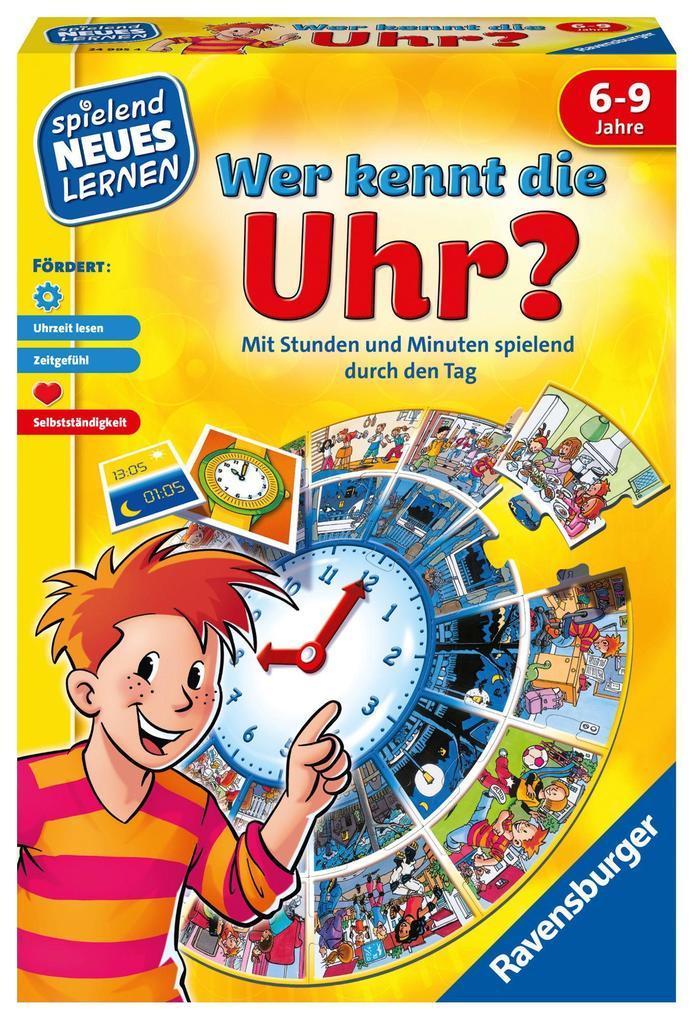 Spiel 'Wer kennt die Uhr?'