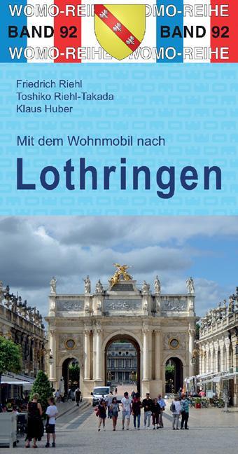 Mit dem Wohnmobil nach Lothringen als Buch